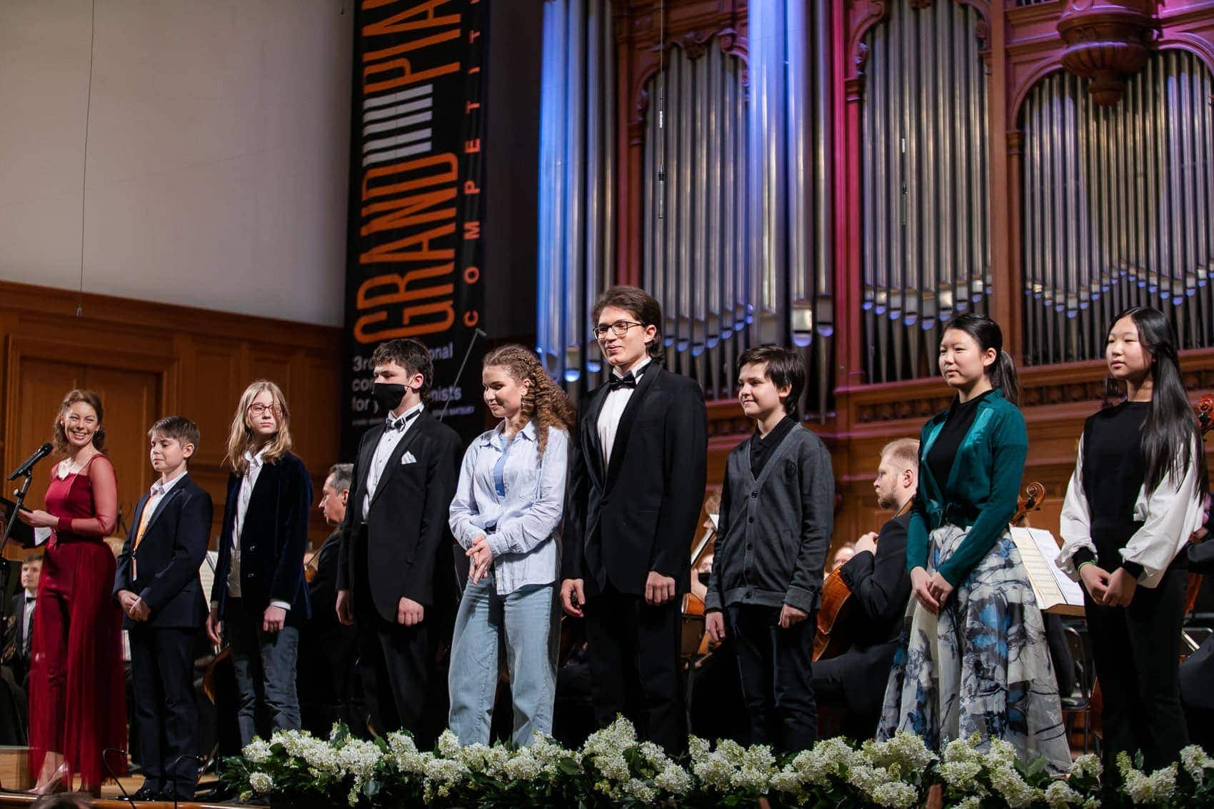 Участники Grand piano competition 2021