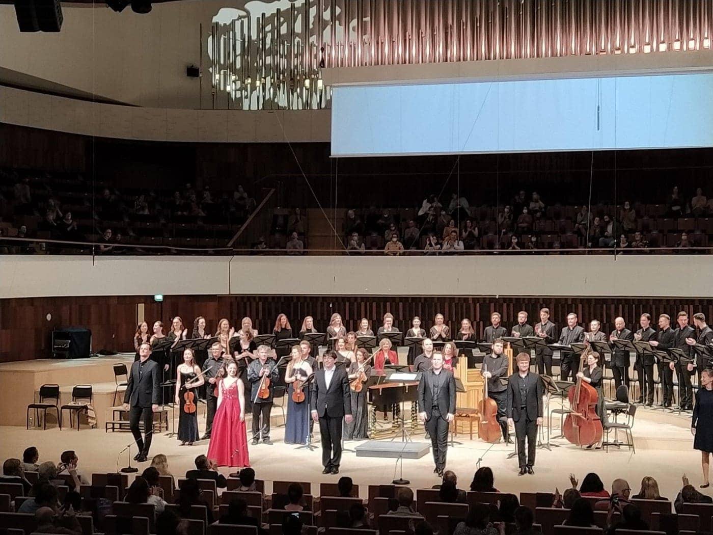 В концертном зале «Зарядье» прозвучало сочинение молодого Генделя «Ацис и Галатея»