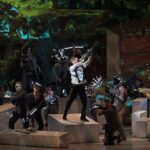 """Сцена из оперы Вебера """"Вольный стрелок"""" в постановке Александра Тителя"""