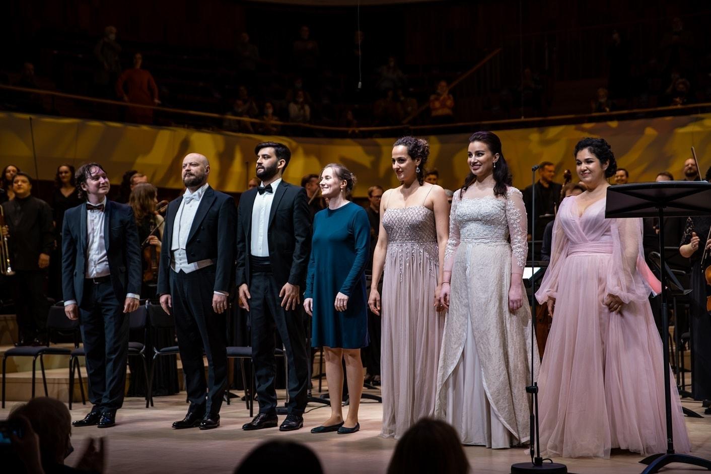 Ораторию Мендельсона «Илия» исполнили в концертном зале «Зарядье». Фото - Ира Полярная