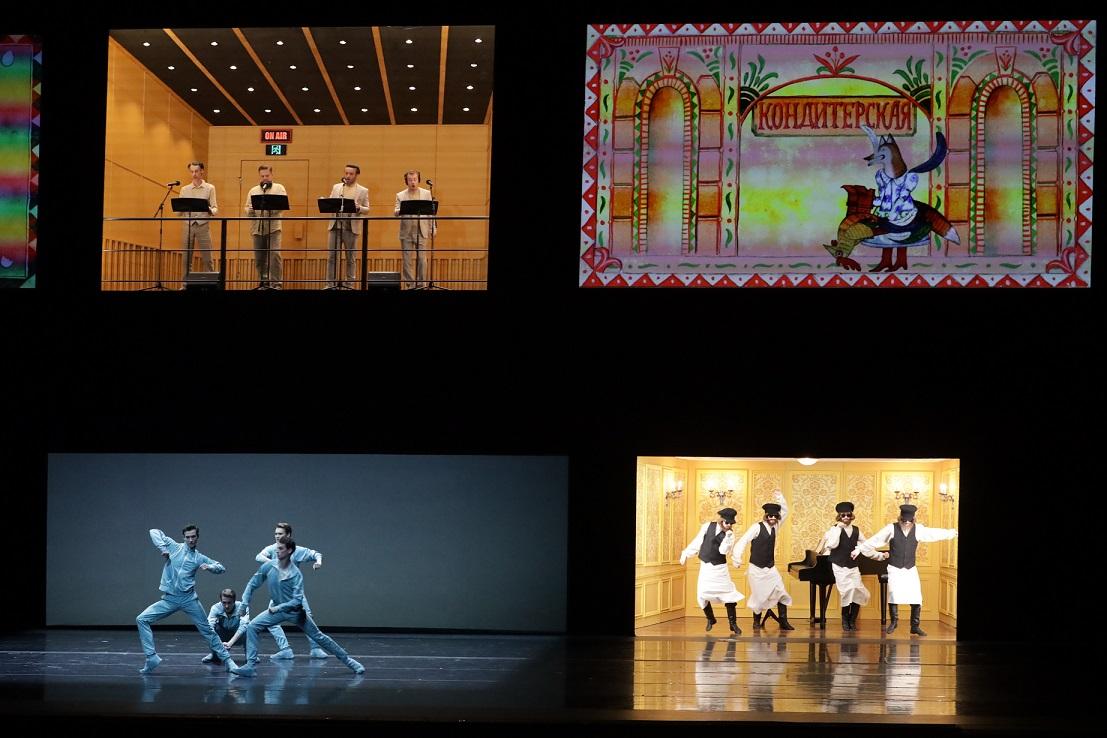 Одноактные балеты Стравинского в Мариинском театре. Фото - Наташа Разина