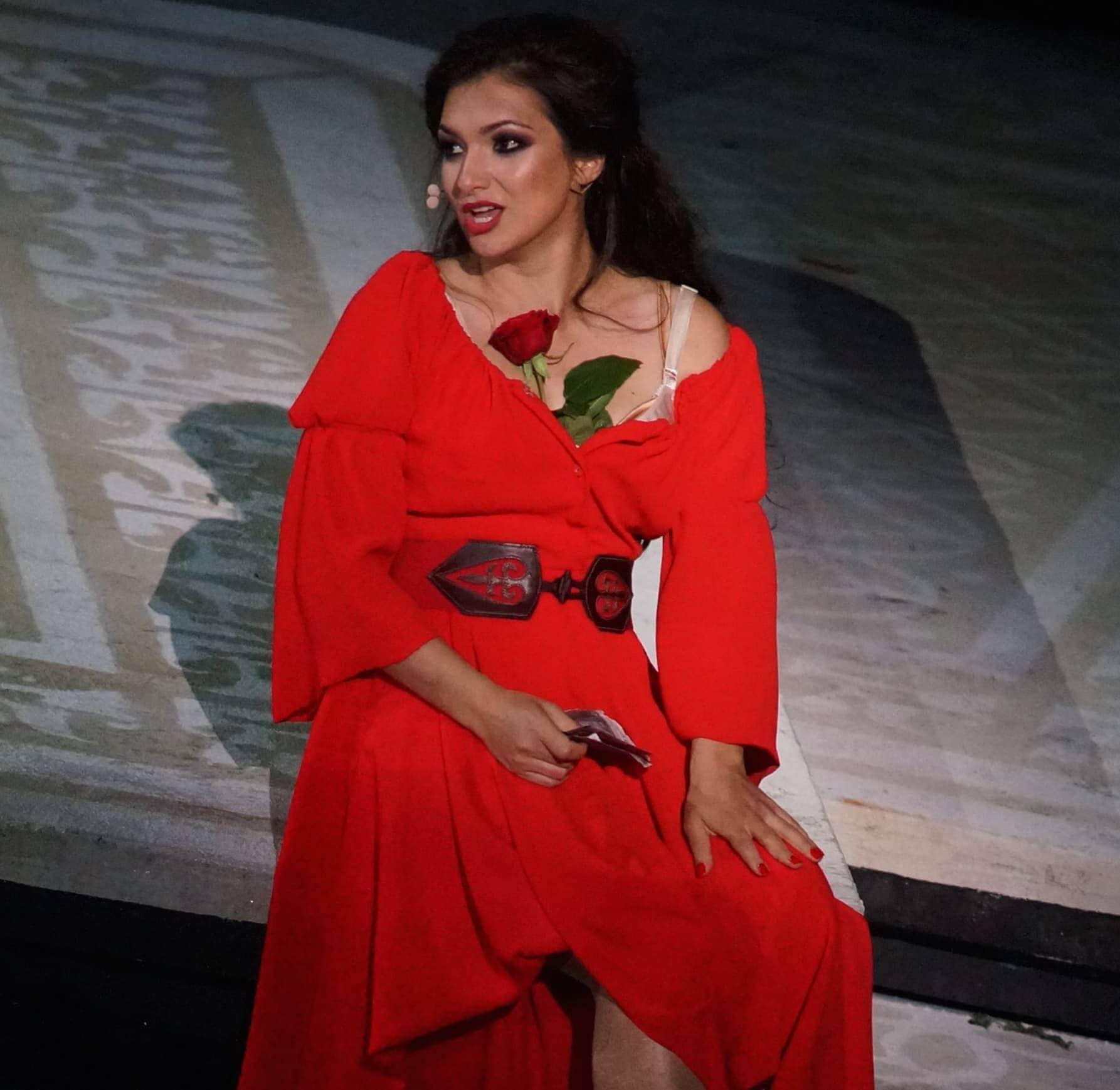 Лена Белкина - Кармен в одноименной опере Ж. Бизе