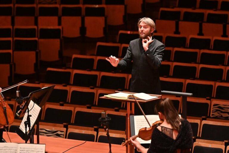 Руководитель Борнмутского оркестра Кирилл Карабиц выступил в Новом Иерусалиме