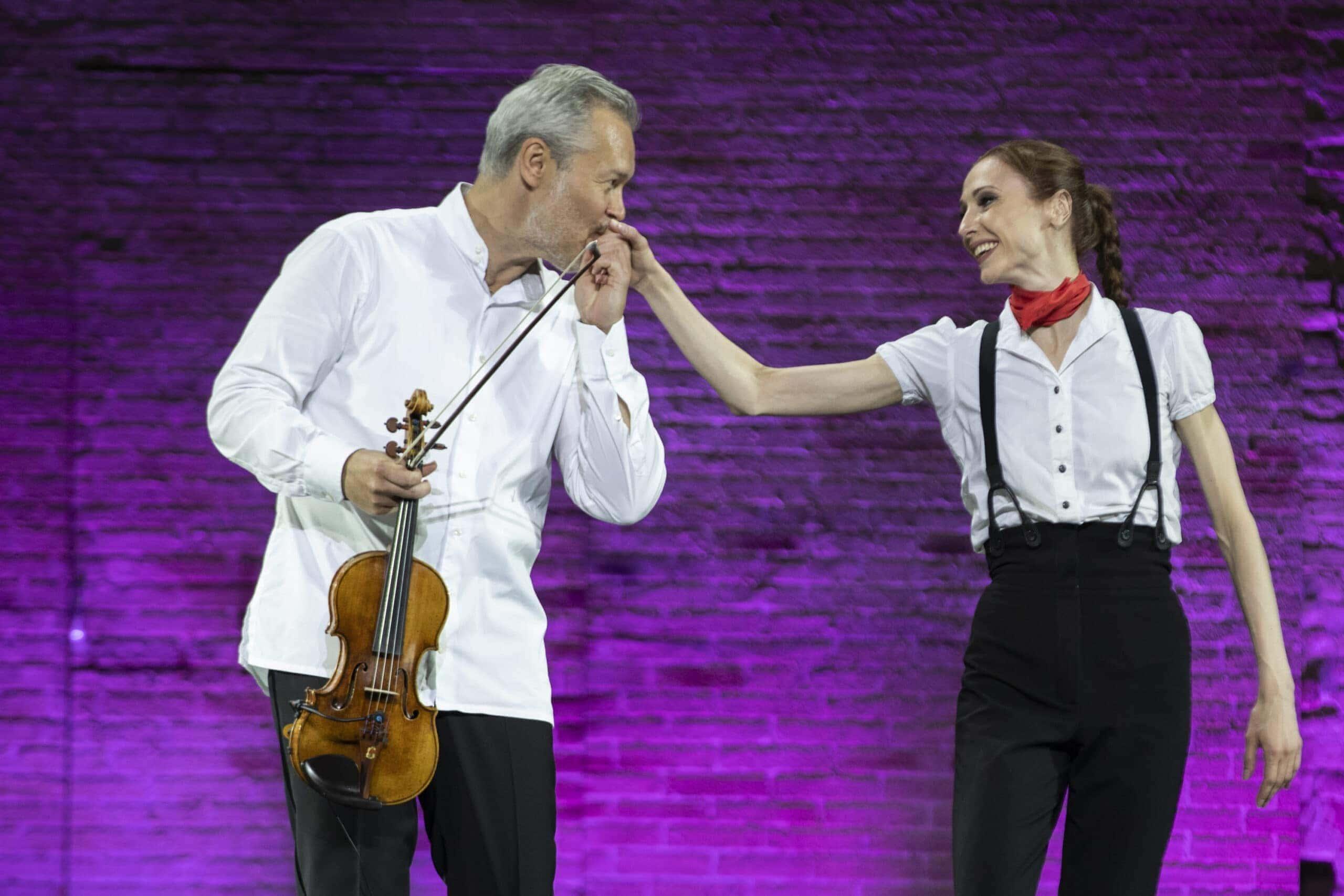 Вадим Репин и Светлана Захарова. Фото - Tabocchini Zanconi