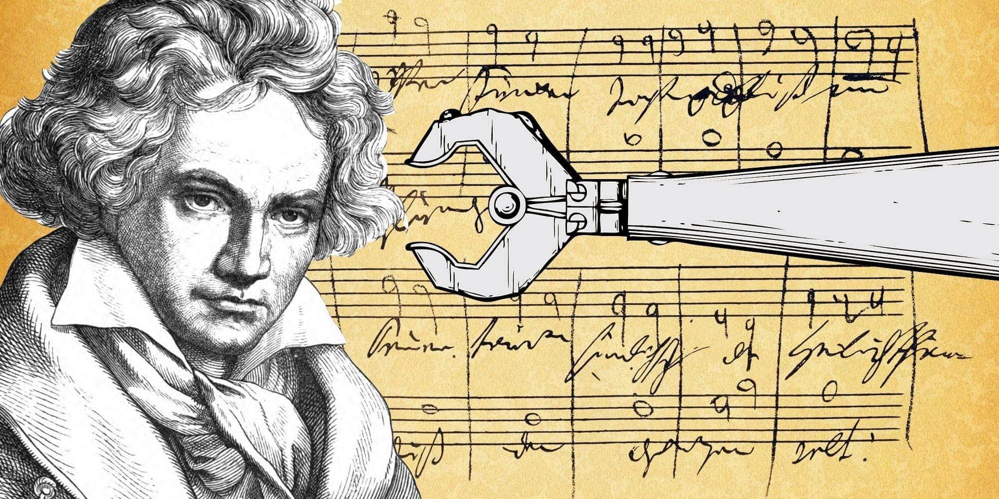 Десятую симфонию Бетховена дописал искусственный интеллект