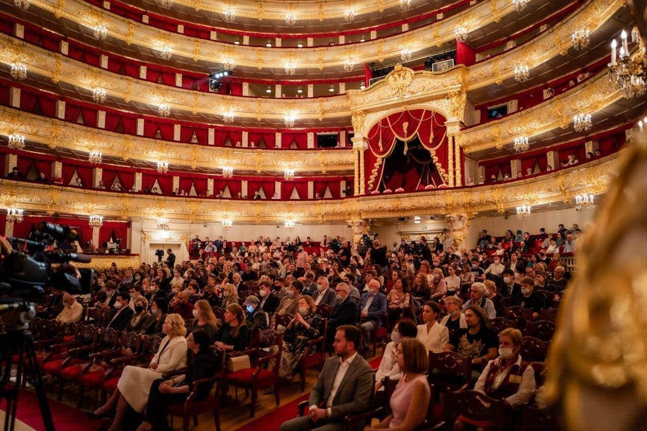 Сбор труппы в Большом театре - 2021
