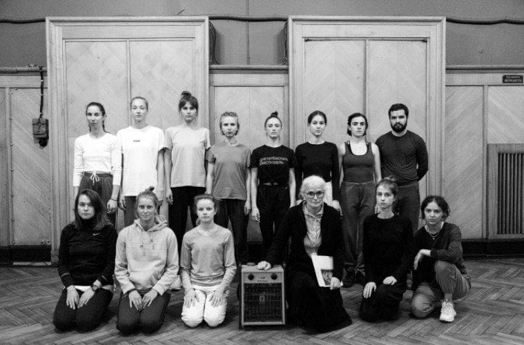 Премьера в Доме Радио: танец для хора «Новый обычай» Клаудии Кастеллуччи
