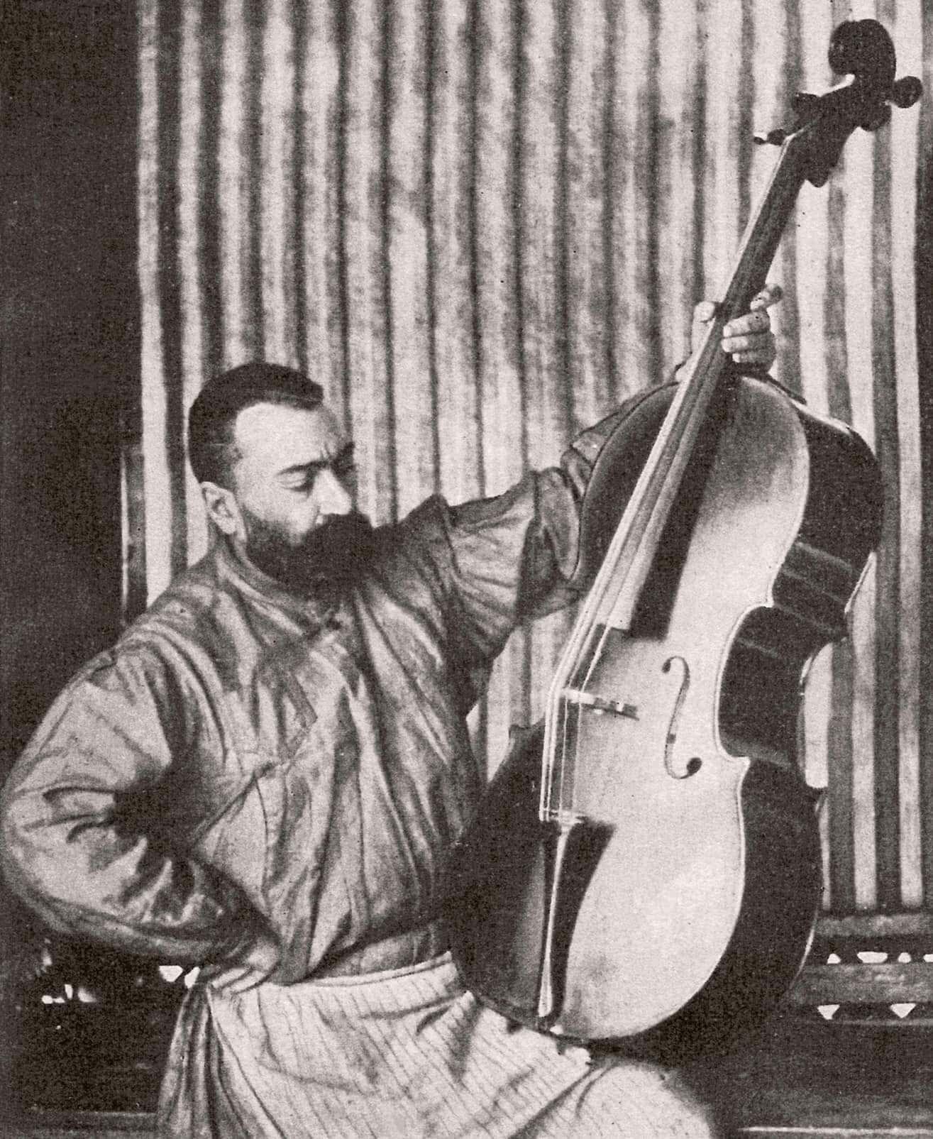 Скрипичный мастер Анатолий Леман
