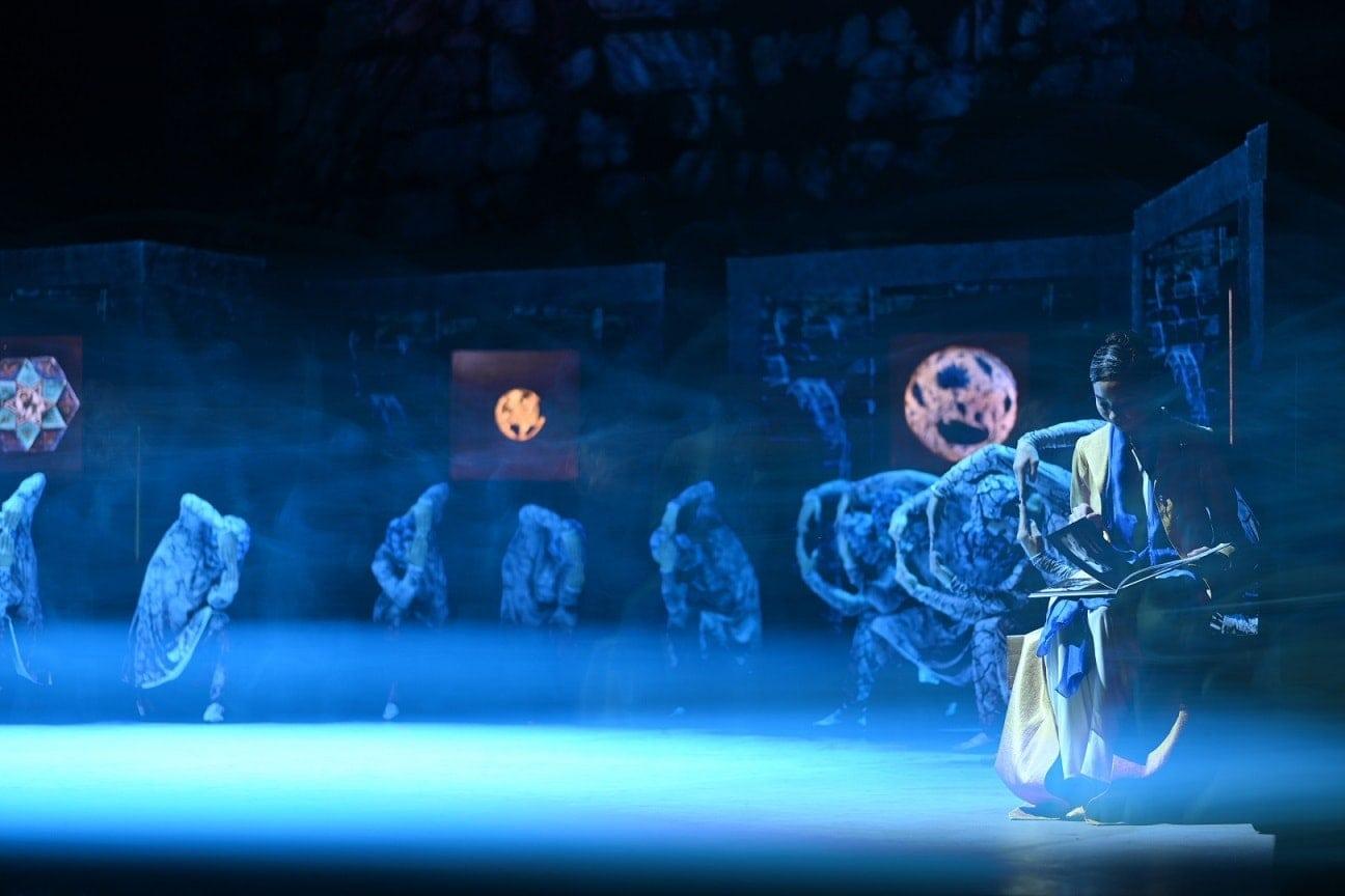 """Сцена из балета """"Шахерезада"""". Фото - Гюнай Мусаева"""