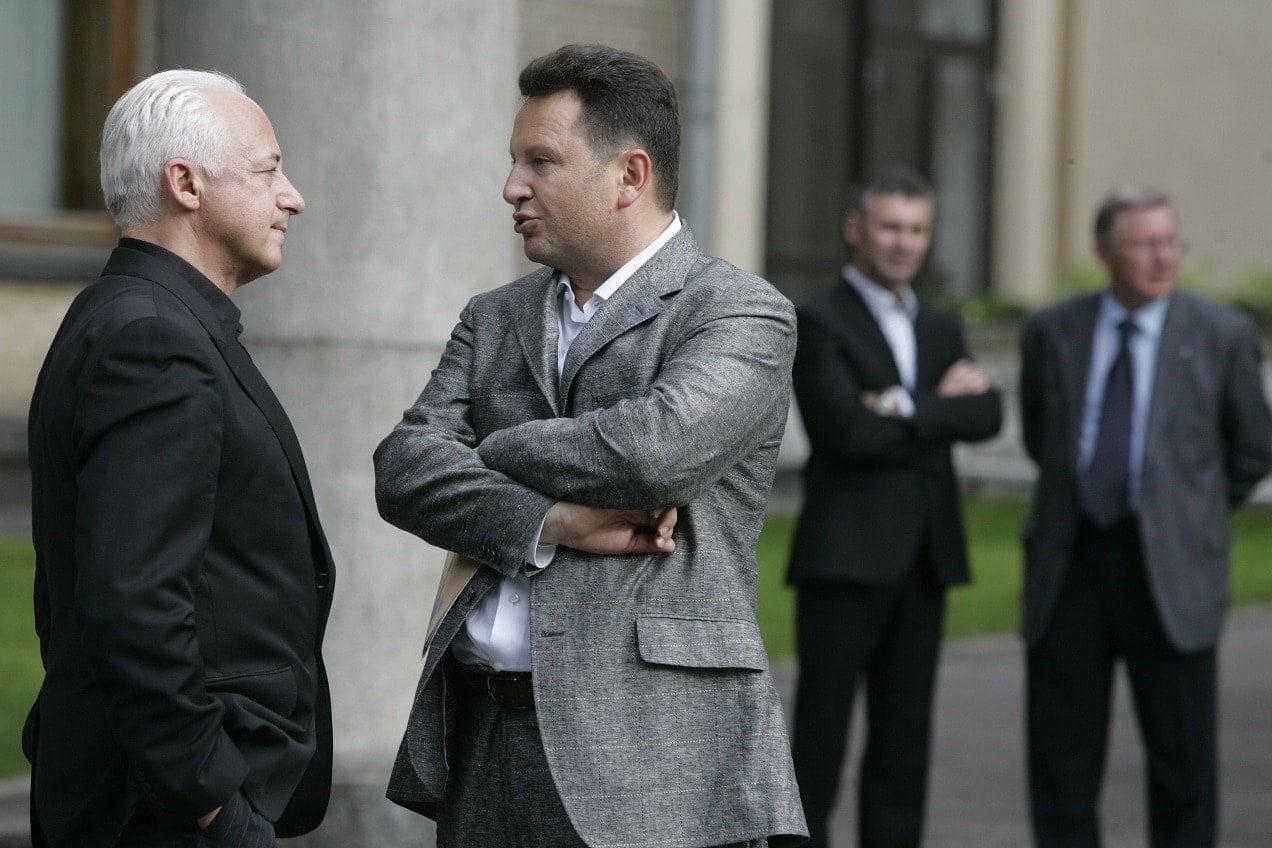 Владимир Спиваков и Георгий Агеев