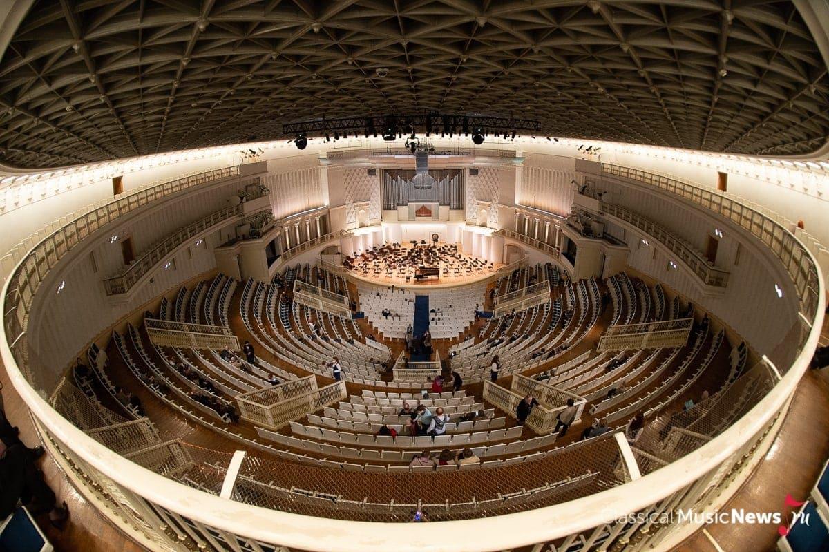 Концертный зал имени Чайковского. Фото - Алексей Молчановский