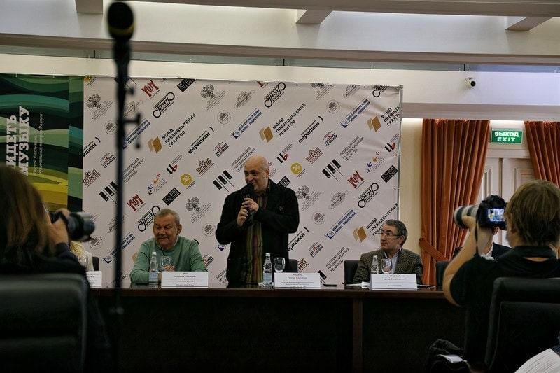 Владимир Урин, Георгий Исаакян, Григорий Заславский. Фото - Александра Сайдова