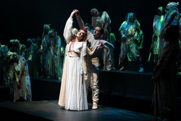 В «Геликон-опере» завершилась премьерная серия оперы «Альфа и Омега»