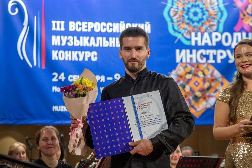 Андрей Долгов. Фото - Николай Винокуров