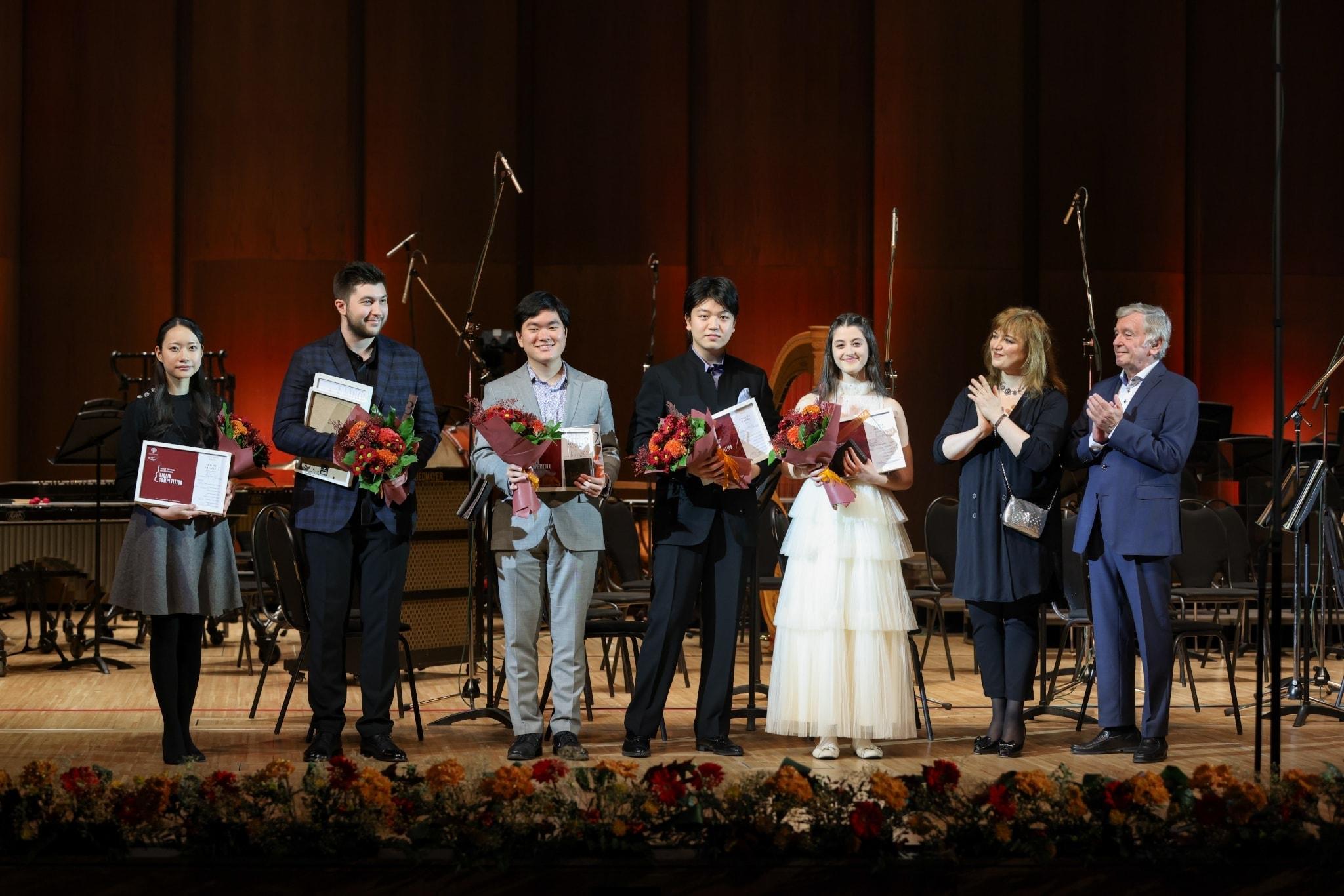 В Красноярске названы победители II Международного конкурса скрипачей Виктора Третьякова