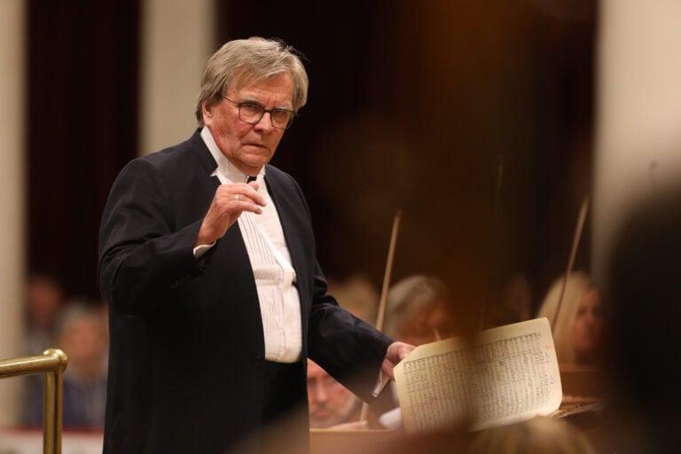 В Петербургской филармонии выступит один из крупнейших российских дирижеров Владимир Федосеев