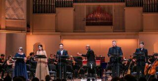 """Концертное исполнение оперы Генделя """"Роделинда"""". Фото предоставлено пресс-службой МГАФ"""